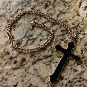 Enamel Vintage Large Cross